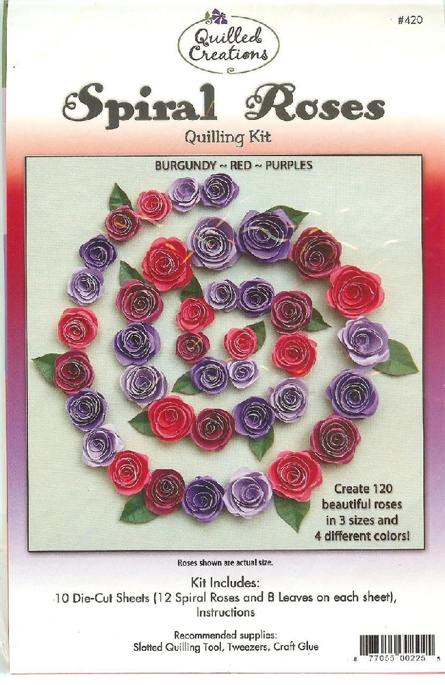 Leaves and Lilies Quilled Creations Quilling Dies